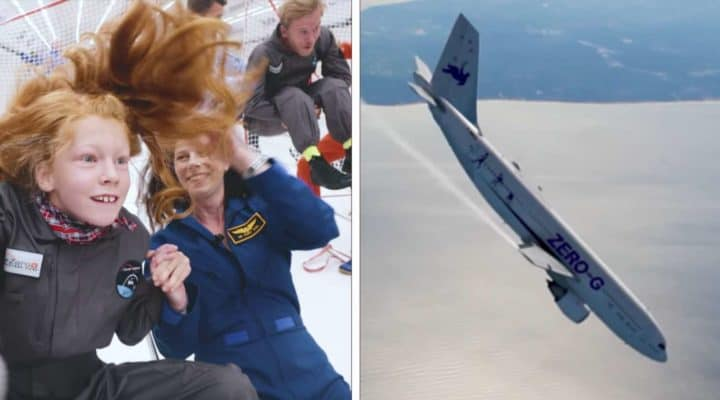Disabled Kids Get Opportunity Of Lifetime With Zero Gravity