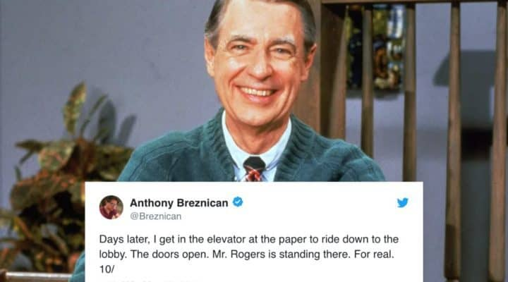 Tissues At The Ready Man Shares Story Of Time Mr Rogers Helped Him