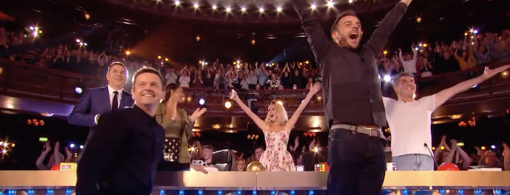 Marc Spelmann gets golden buzzer