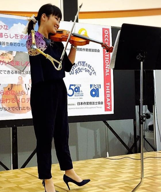 Manami Ito one-armed violinist