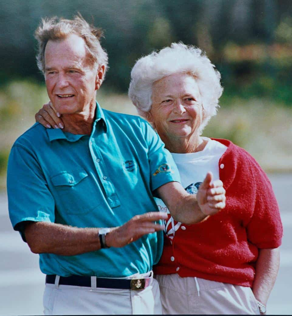 George H.W. Bush's letter to Barbara