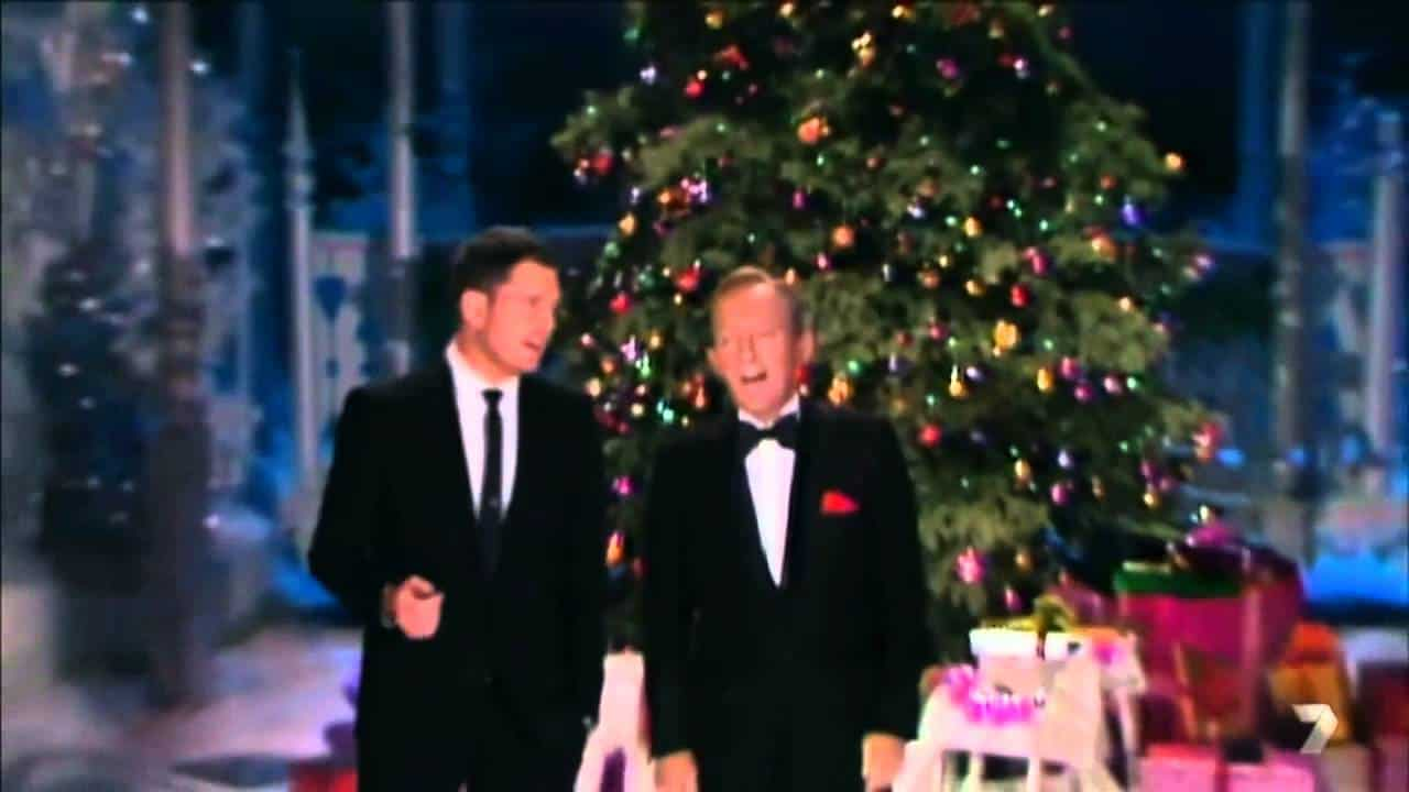 Michael Bublé and Bing Crosby