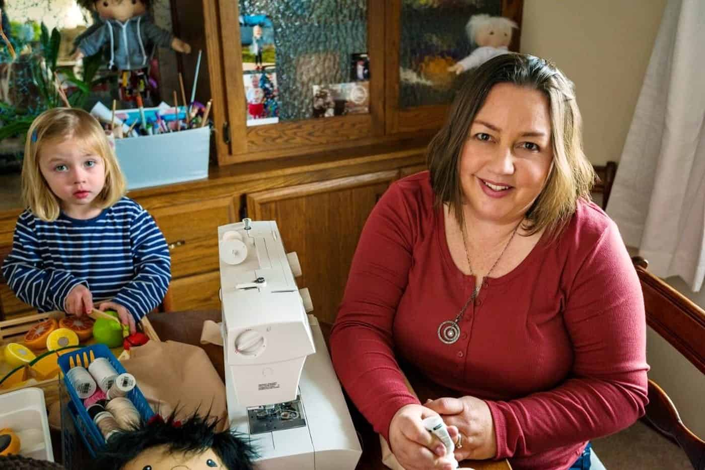 How Children With Disabilities Came To >> Lady Makes Unique A Doll Like Me For Kids With Disabilities