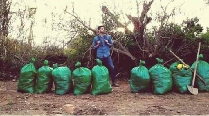 Viral challenge helping the environment