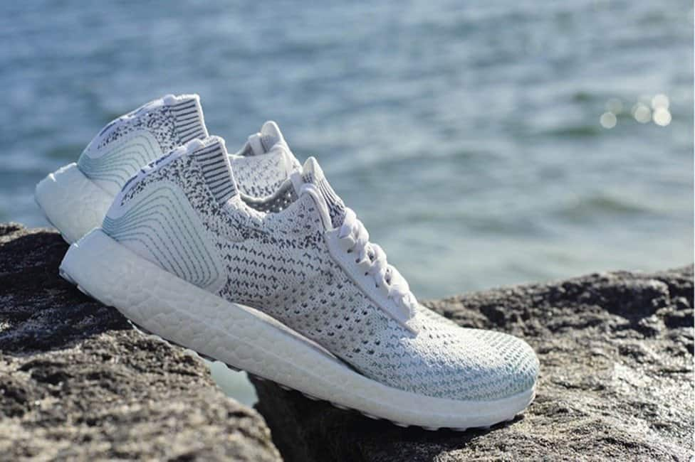 adidas create a range of trainers made from recycled ocean plastic