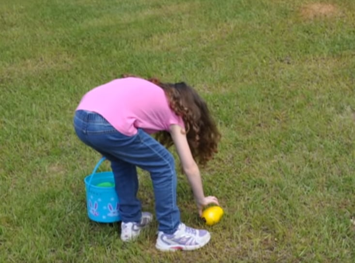 Dad creates beeping eggs so blind daughter can go on easter egg hunt too