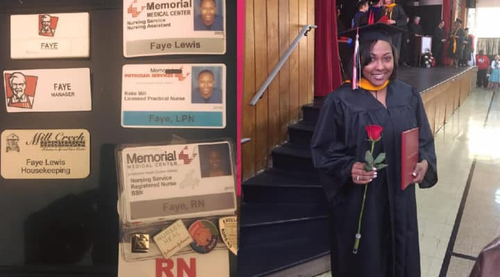 Single mom achieves her dream of becoming a certified nurse