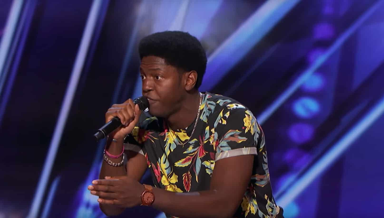 joseph allen wins golden buzzer for song