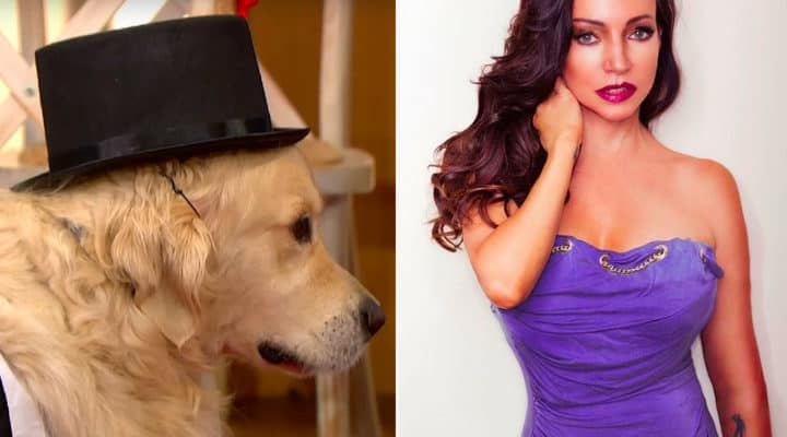 model marries dog