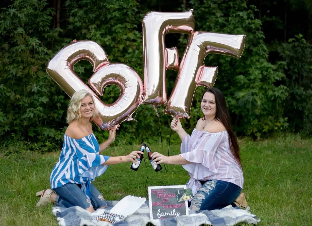 "Moms Stage ""Friend-versary"" Photoshoot To Celebrate 23 Years As BFFs"