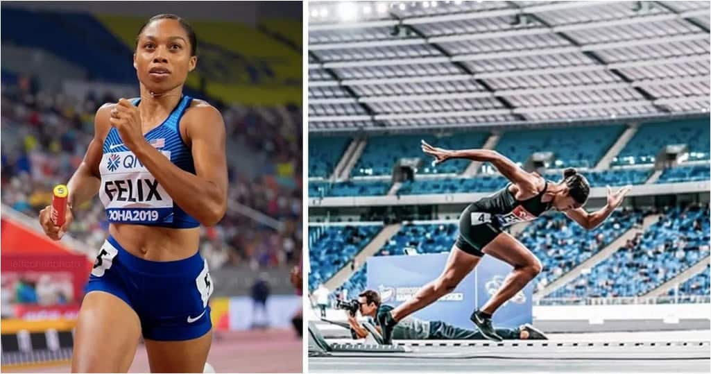 Allyson Felix Beats Usain Bolt's Record Just 10 Months After Giving Birth